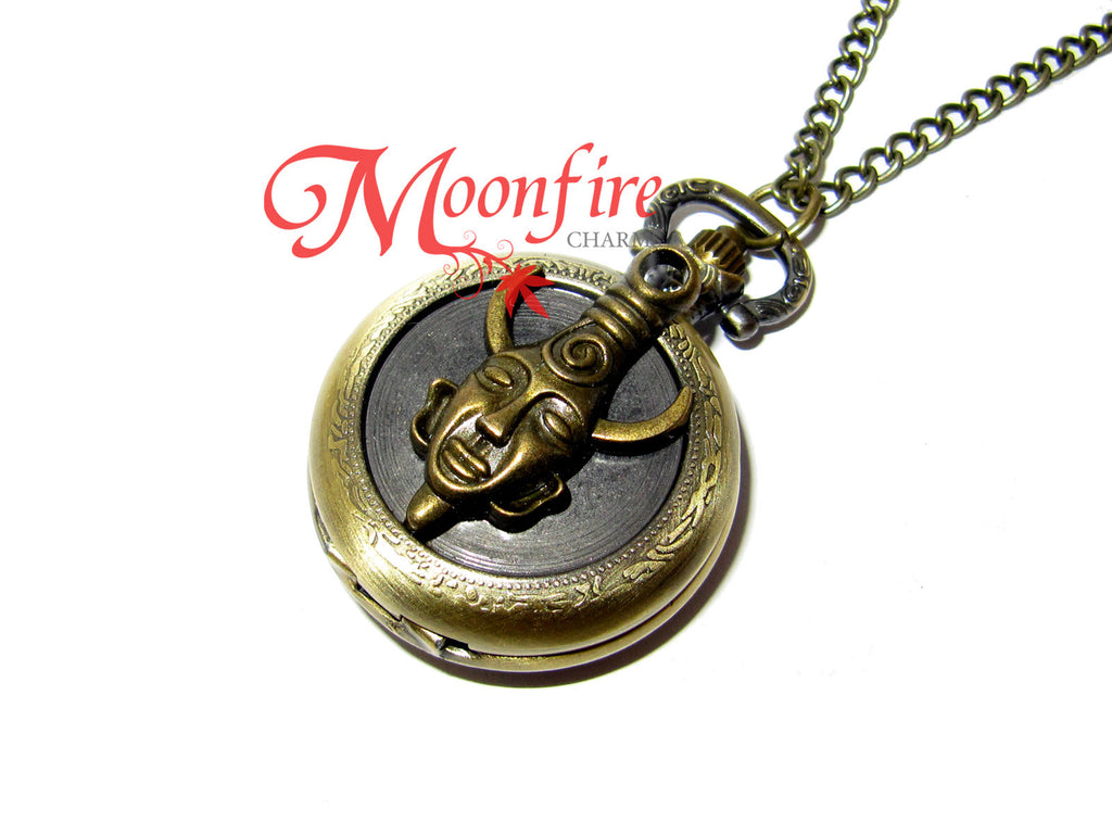 SUPERNATURAL Dean's Amulet Samulet Pocket Watch Necklace