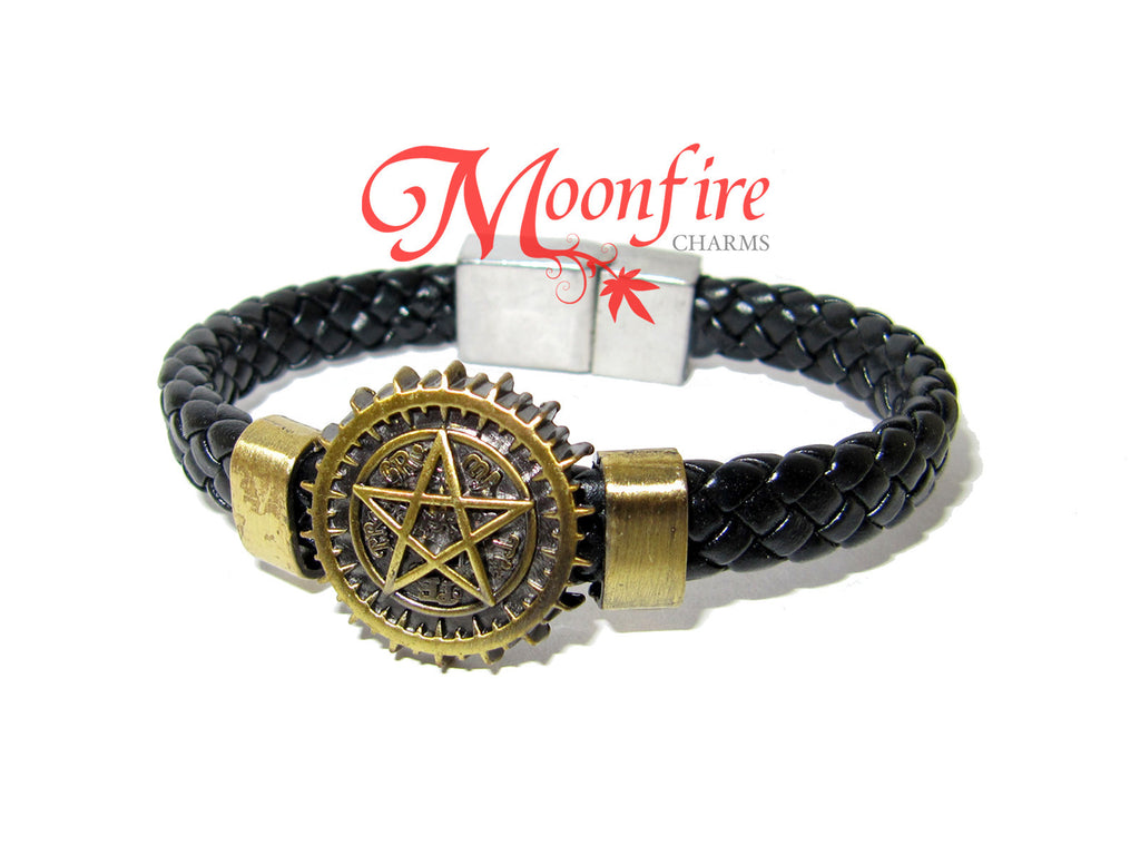 SUPERNATURAL Pentagram Braider Bracelet