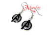 "THE AVENGERS ""A"" Logo Symbol Earrings"