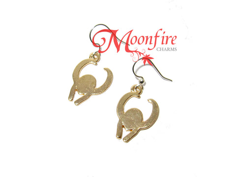 THE AVENGERS Loki Helmet Earrings