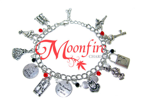 THE HAPPIEST PLACE ON EARTH Fandom Charm Bracelet