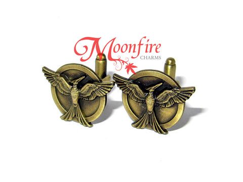 THE HUNGER GAMES: MOCKINGJAY PART 1 Mockingjay Cufflinks