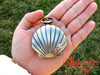 THE LITTLE MERMAID Seashell Pocket Watch Necklace