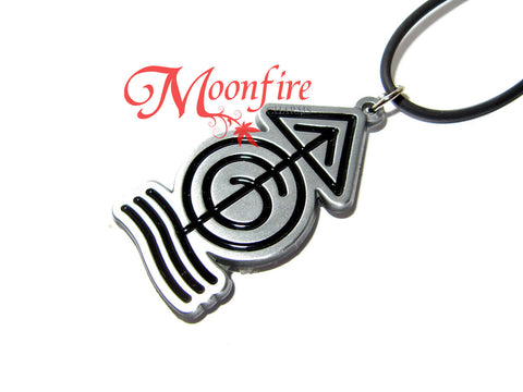 THE MAGISTERIUM Quincunx Symbol Pendant Necklace