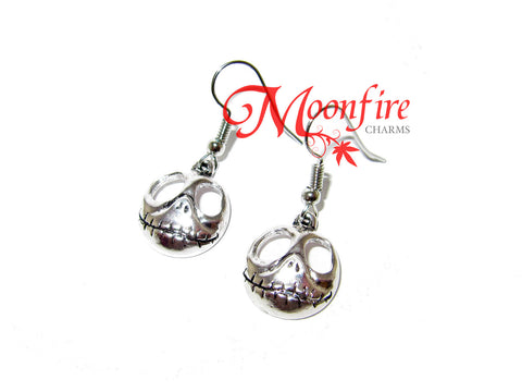 THE NIGHTMARE BEFORE CHRISTMAS Jack Skellington Skull Earrings