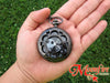 THE NIGHTMARE BEFORE CHRISTMAS Jack Skellington Pocket Watch Necklace
