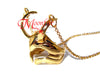 THE AVENGERS Loki Helmet Ring Necklace