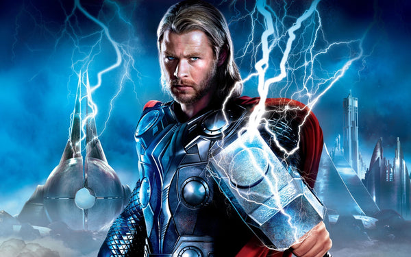 Thor thor s name and hammer pendant necklace moonfire charms