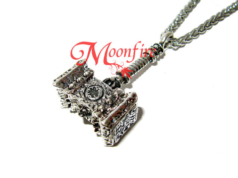 WORLD OF WARCRAFT Doomhammer Pendant Necklace
