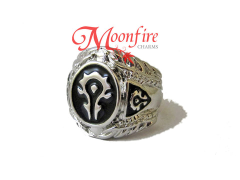 WORLD OF WARCRAFT Horde Symbol Ring