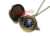 X-MEN X Logo Small Pocket Watch Necklace