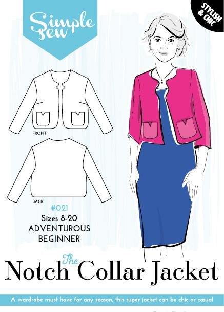 Notch Collar Jacket