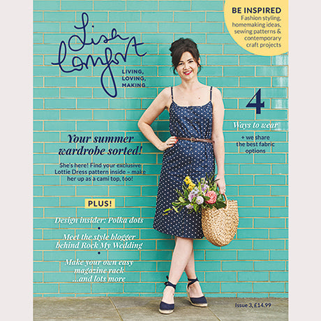 Lisa Comfort Magazine Issue 3 + Lottie Dress