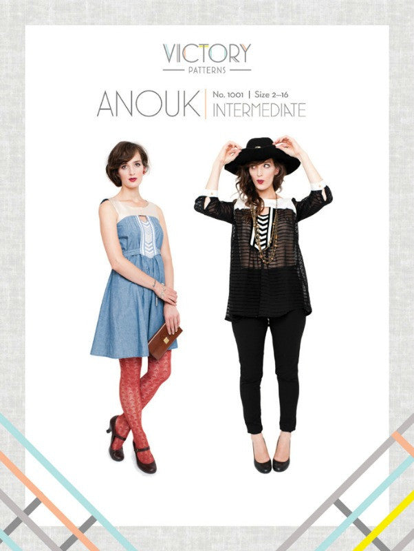 Anouk PDF Sewing Pattern