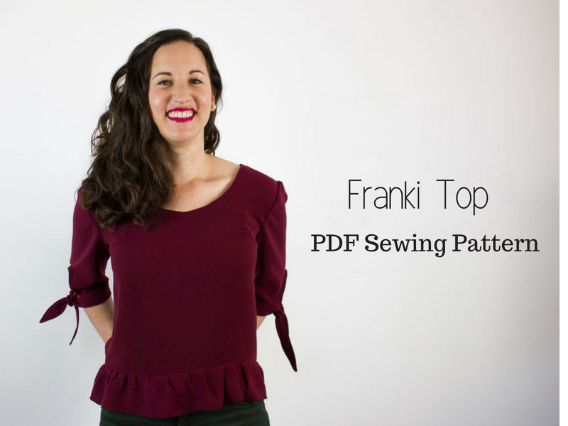 Franki Top PDF Sewing Pattern