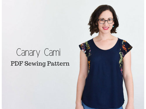 Canary Cami PDF Sewing Pattern