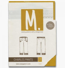 The Charles Pants sewing pattern