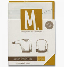 The Julia sweater (teens/women)