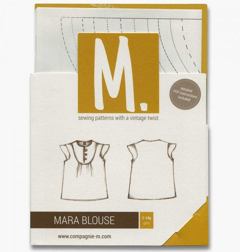 The Mara blouse