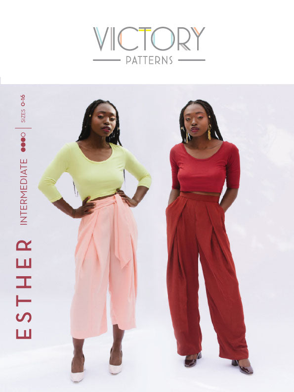Esther Pants PDF Sewing Pattern
