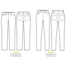 Ginger Jeans Sewing Pattern