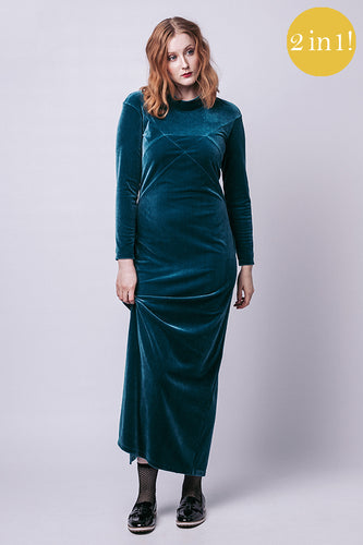 Gemma Maxi Dress and Sweater