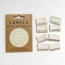 Limited Edition Multi Pack Metallic Woven Side Seam Labels 8 Pack