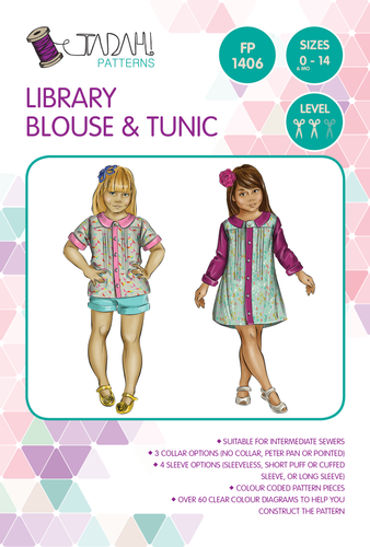 Library Blouse & Tunic