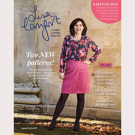 Lisa Comfort Magazine Issue 5 + Ivy Skirt & Annie Blouse