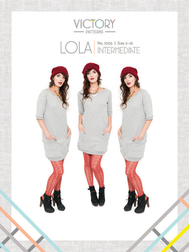 Lola PDF Sewing Pattern