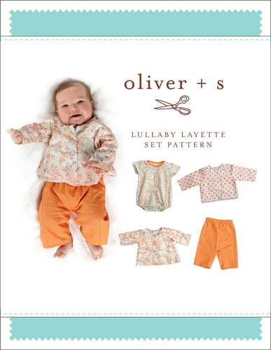 Lullaby Layette Set Pattern