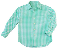 Buttoned-Up Button-Down Shirt