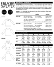 Finlayson Sweater PDF Sewing Pattern