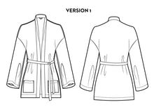 Samara Cardigan + Robe PDF Sewing Pattern