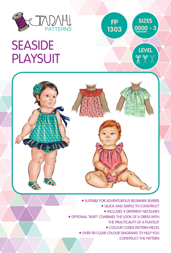 Seaside Playsuit Sewing Pattern