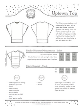 The Uptown Top Pattern
