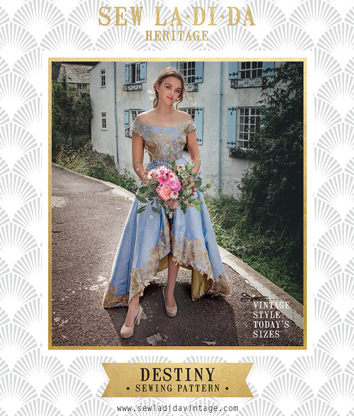 Destiny Dress PDF Sewing Pattern
