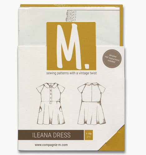 The Ileana Dress (children) paper pattern