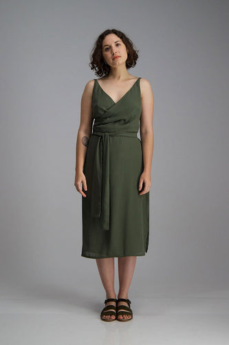 Sparrow Wrap Dress