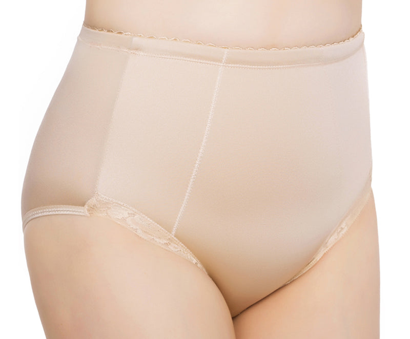 Exquisite Form® 2-Pack Control Top Lace Shaping Panties