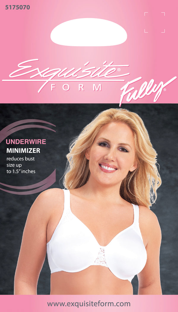 FULLY® Minimizer Underwire Bra