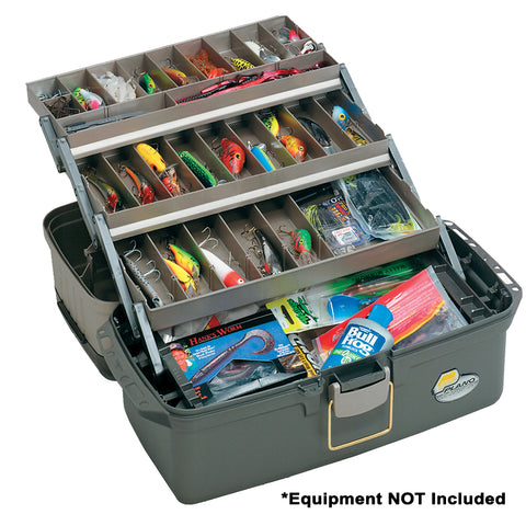 Plano Guide Series Tray Tackle Box - Graphite/Sandstone [613403]