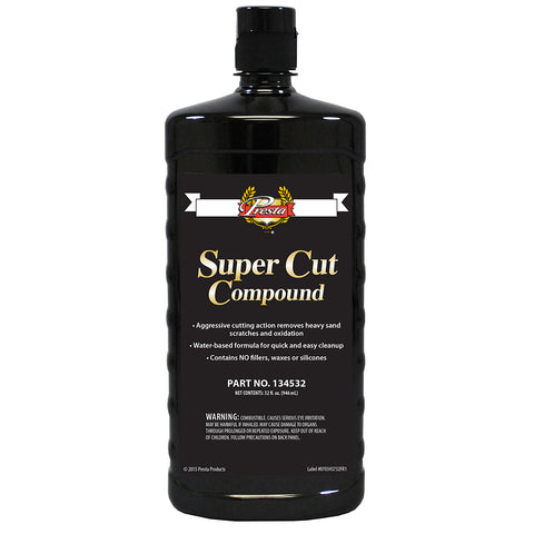 Presta Super Cut Compound - 32oz - *Case of 12* [134532CASE]