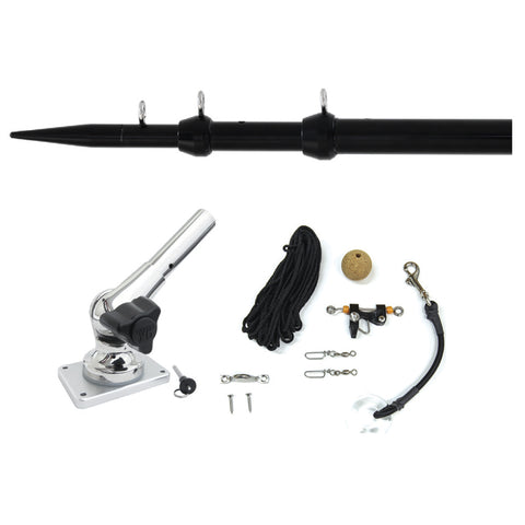 Tigress XD Center Rigger System - 8 - Black Center Rigging Kit [88621-1]
