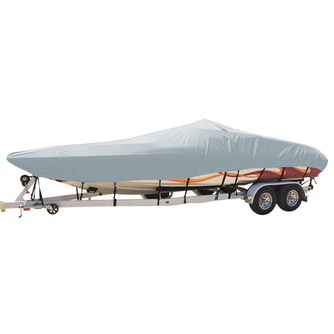 Carver Performance Poly-Guard Styled-to-Fit Boat Cover f/21.5 Day Cruiser Boats - Grey [74421P-10]
