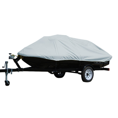 "Carver Performance Poly-Guard Styled-to-Fit Cover f/2-3 Seater Personal Watercrafts 116""X 48"" X 41"" - Grey [4001P-10]"
