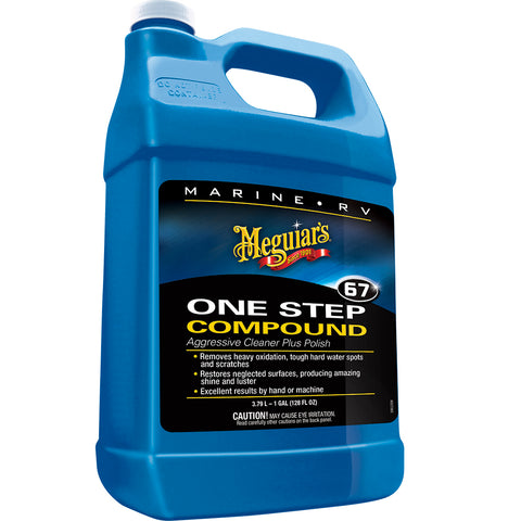 Meguiars Marine One-Step Compound - 1 Gallon *Case of 4* [M6701CASE]