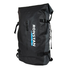 Ronstan Dry Roll Top - 55L Backpack - Black  Grey [RF4014]