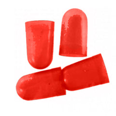 Image of VDO Light Diffuser f/Type D Peanut Bulb - Red - 4 Pack [600-859]
