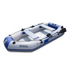 Image of 3 Person 260cm Inflatable Rowing Boat PVC Kayak Dinghy Hovercraft Fishing Canoe Drifting Raft Sailboat Surfing Sailing Ship B